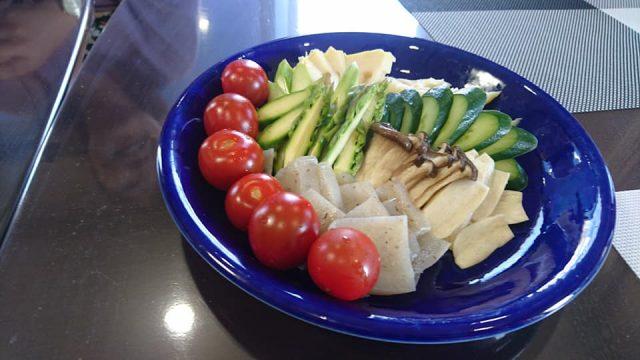 ぬか漬け-ミニトマト、タケノコ、エリンギ、キュウリ、こんにゃく